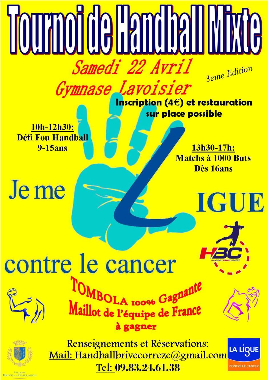 TOURNOI CONTRE LE CANCER 2017