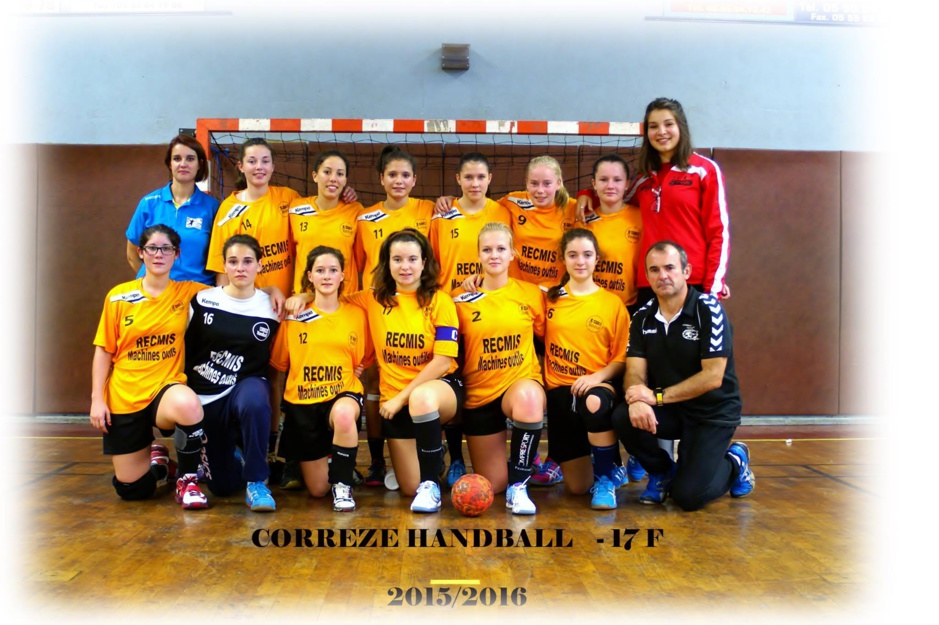 Moins de 17F Inter-Régional  Corrèze Handball