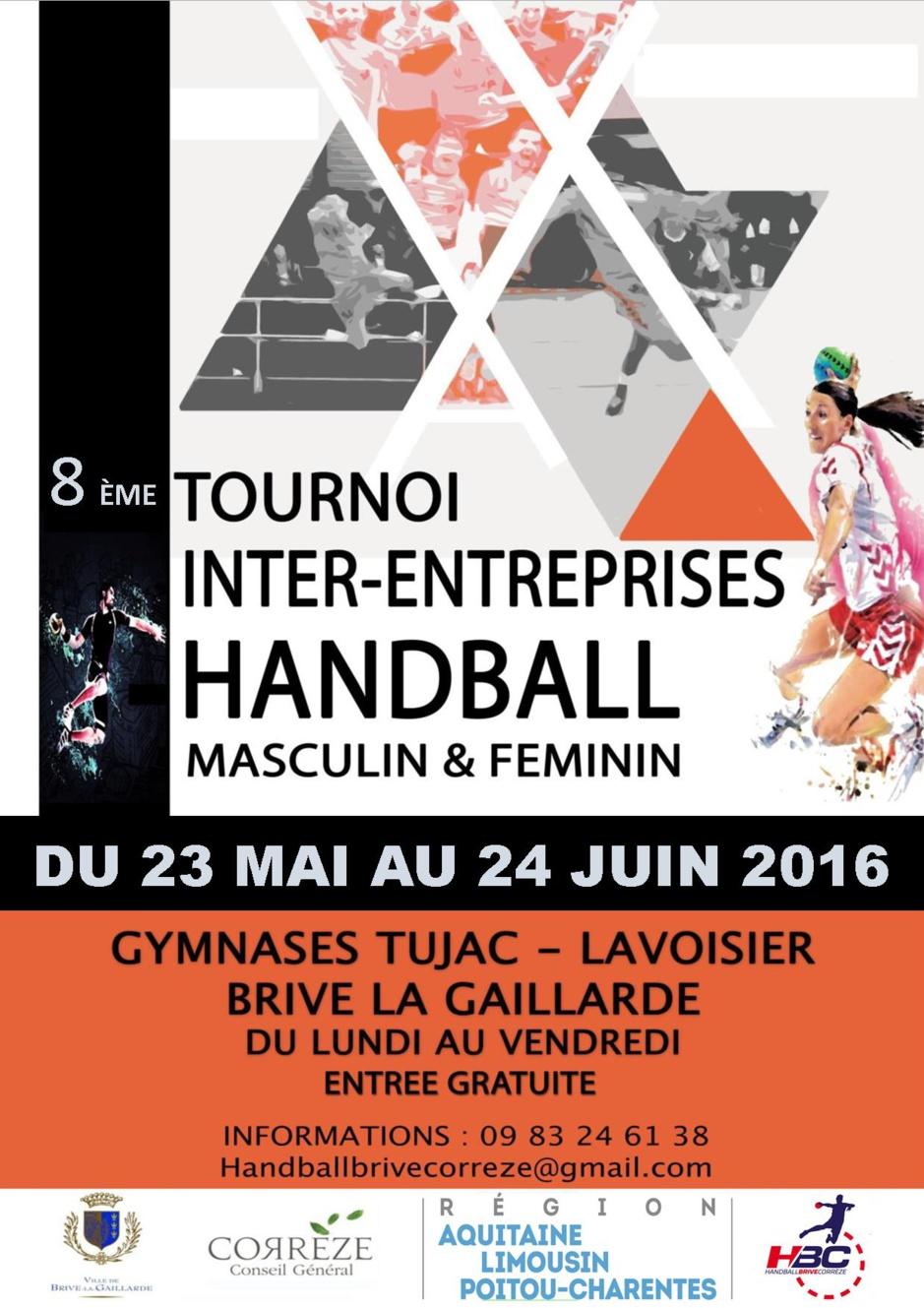 Tournoi Inter-Entreprises 2016