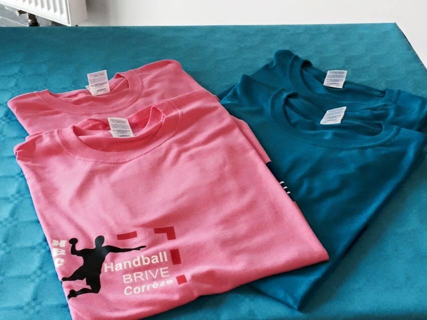 Tee-shirts en vente