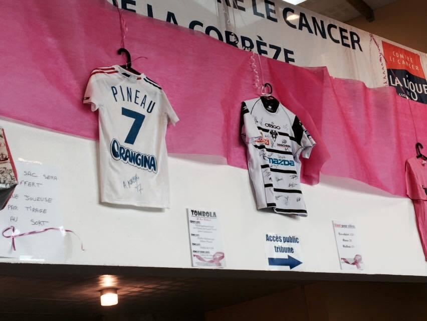 TOMBOLA: Maillots du CAB et d'Allison Pineau (joueuse équipe de France de Handball)