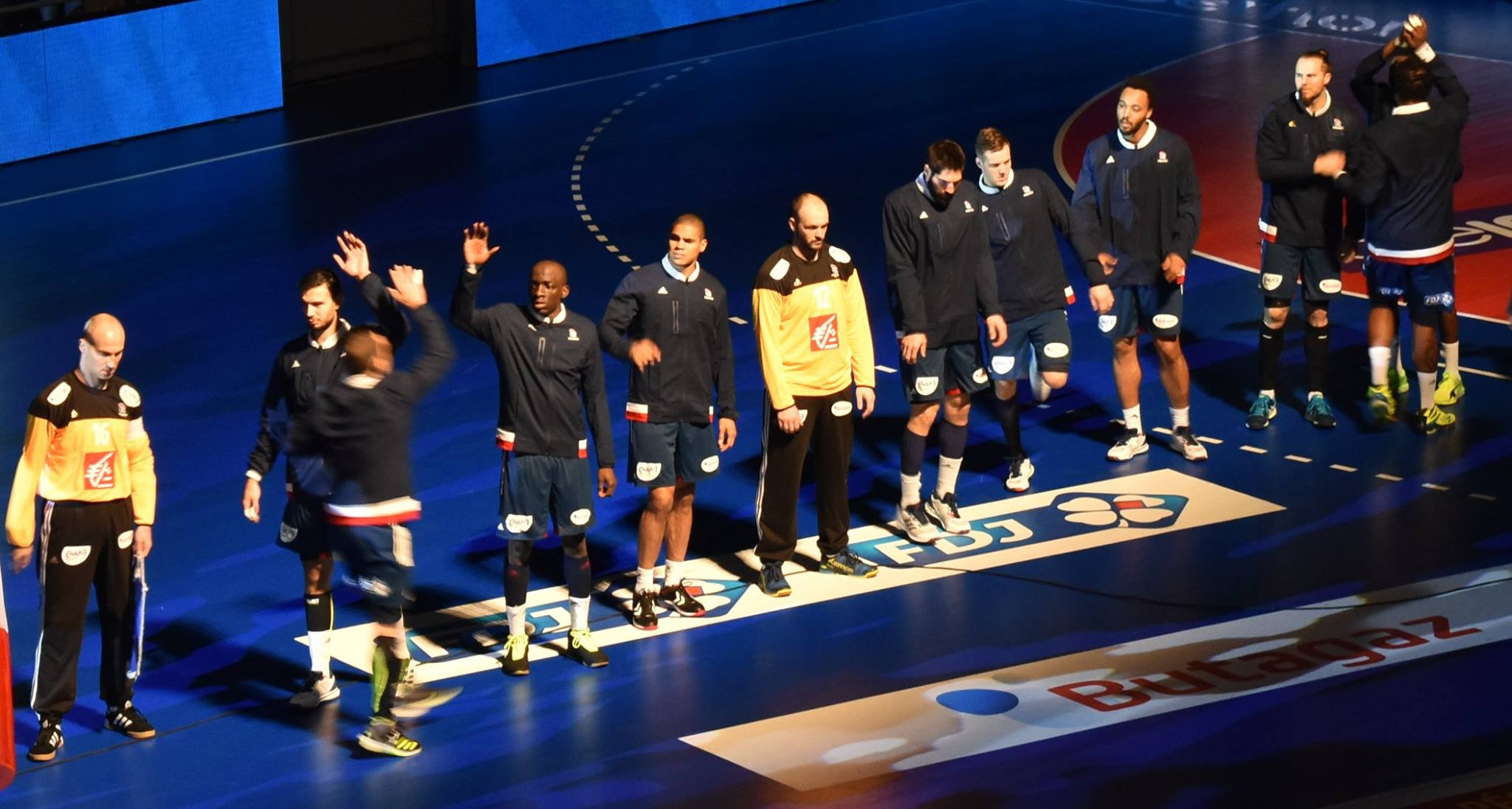 Match Préparation Mondial 2017  FRANCE vs SLOVENIE à Toulouse (6.01.2017)