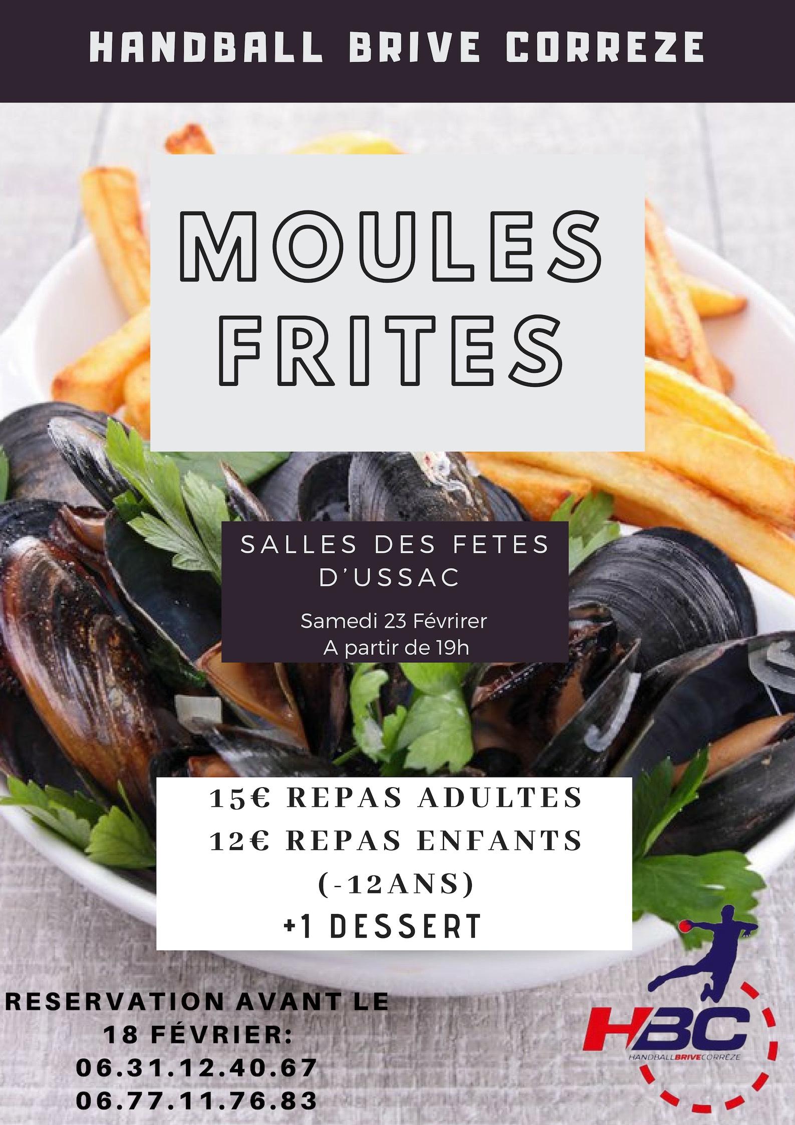 REPAS Moules / Frites