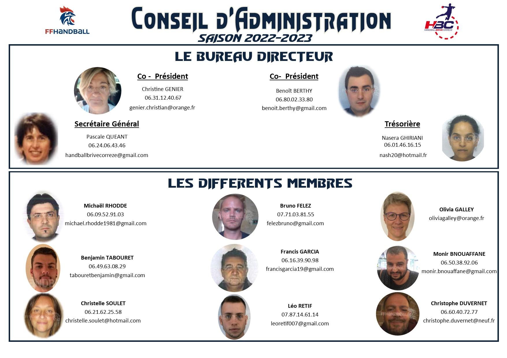 Conseil d'administration