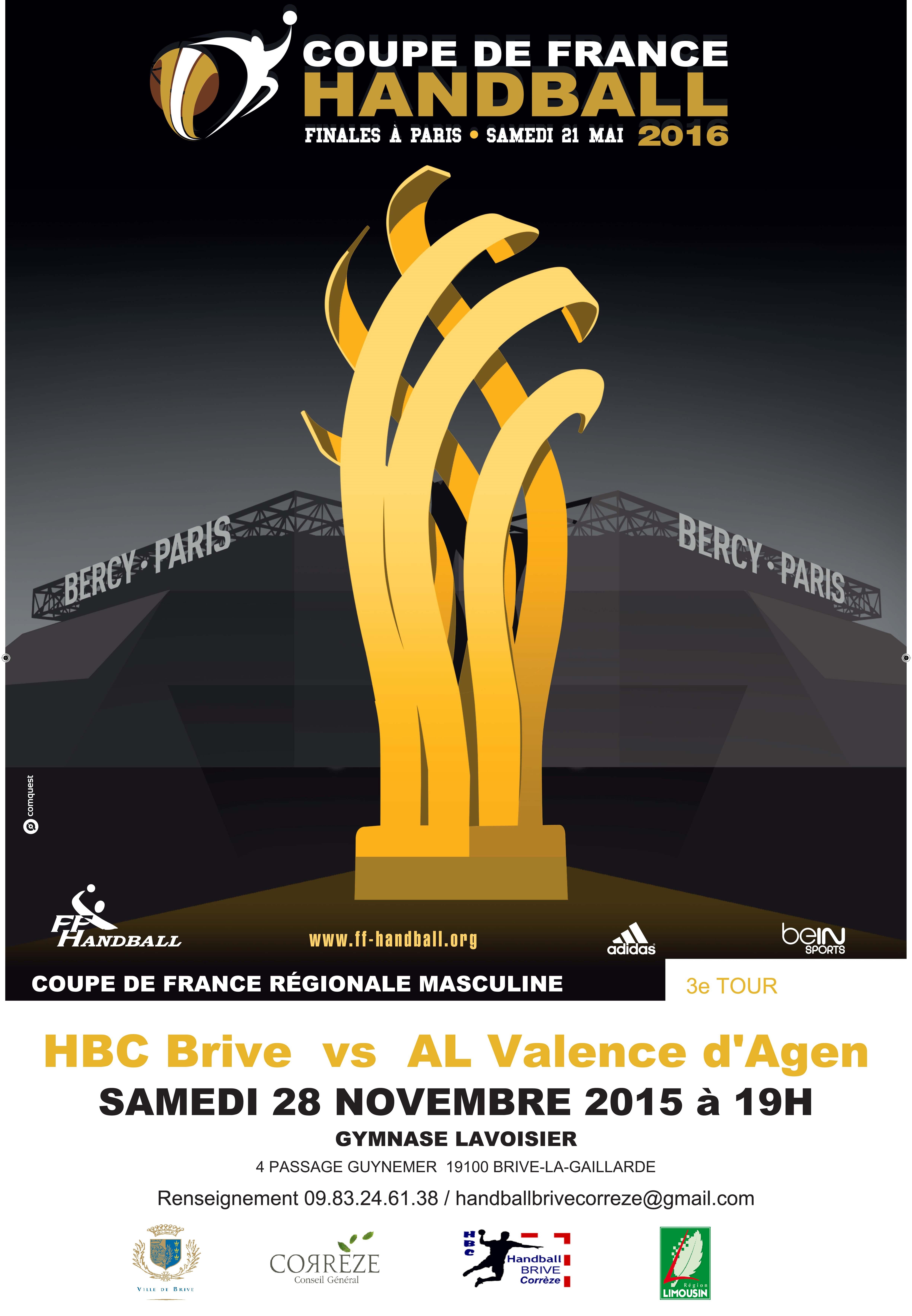 Cpe de France Rég. Masc. 3e Tour (28/11/2015) / Lever de rideau - de 11 ans à 17h