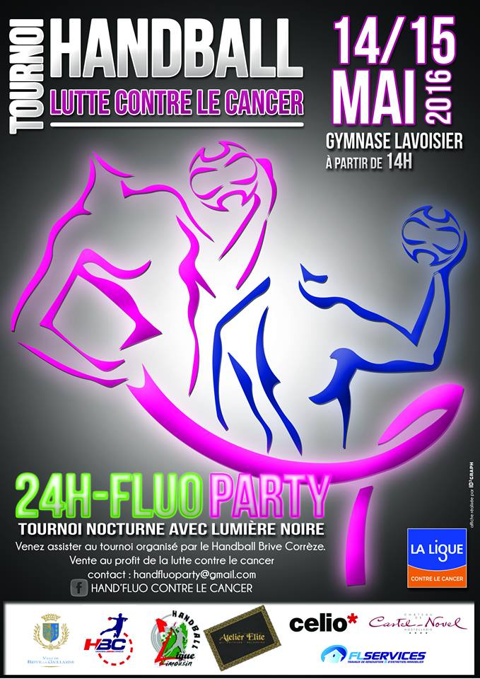 HAND' FLUO Tournoi contre le Cancer